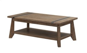 Emerald Home Viewpoint Rectangular Cocktail Table Driftwood T977-0