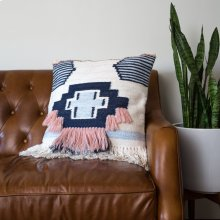 Ward Pillow - Navy Pink
