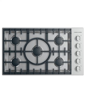 Gas Cooktop, 36""
