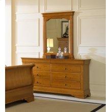 Louis Philippe Portrait Mirror