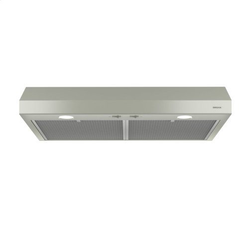 Glacier 30-Inch 250 CFM Bisque Range Hood with light