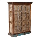 Painted Jailhouse Armoire Product Image