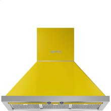 "30"" Portofino Chimney Hood, Yellow"