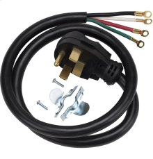 Universal range power cord (4W / 4' / 40A)
