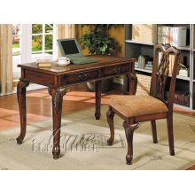 2pc Writing Desk & Side Chair Set