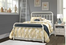 Kirkland Full Bed Set - Soft White