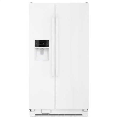 Amana® Side-by-Side Refrigerator with Dairy Center - White