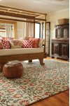 Charming Suzani Red Multi Hand Tufted Rugs