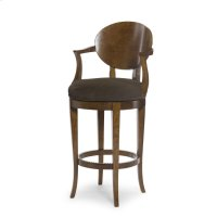 Olive Swivel Bar Stool Product Image