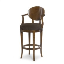 Olive Swivel Bar Stool