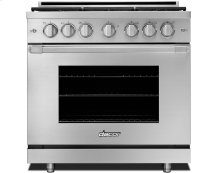 "36"" Heritage Gas Pro Range-SS Nat. Gas High Alt."