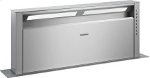 Retractable downdraft ventilation AL 400 791 Stainless Steel Width 35 3/4 '' (90 cm) Air extraction / recirculation