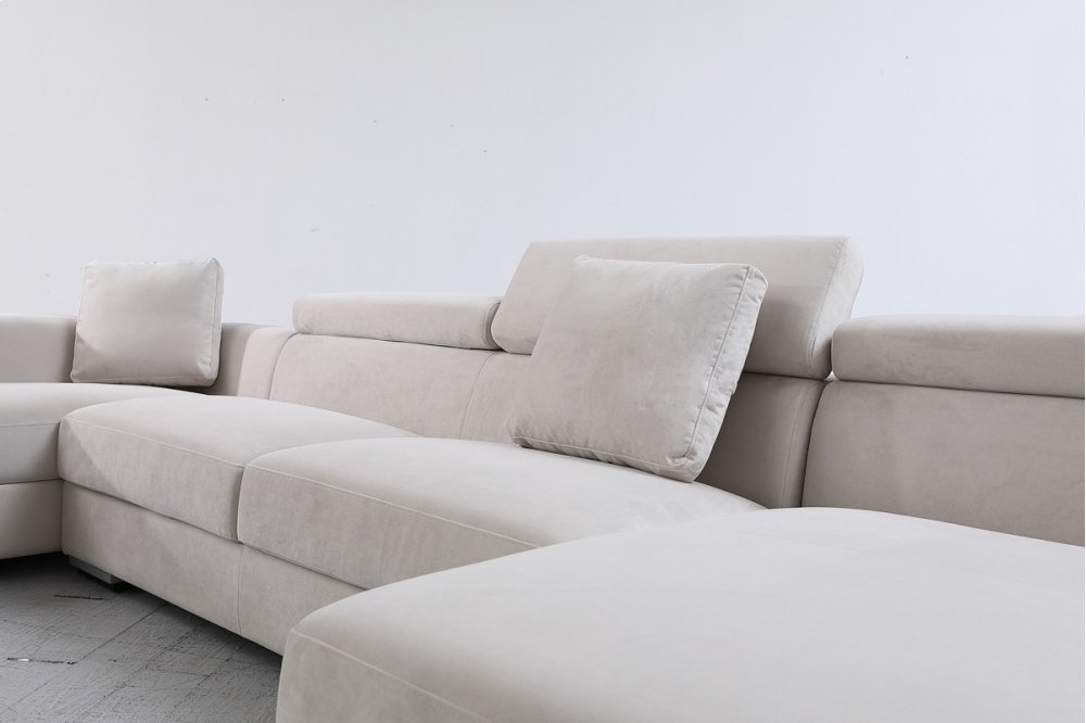 Hidden · Additional Divani Casa Forte   Modern Modular Fabric Sectional Sofa
