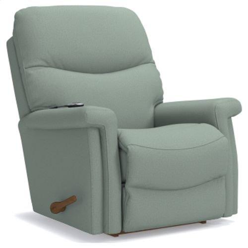 Baylor Reclina-Rocker® Recliner w/ Two-Motor Massage & Heat
