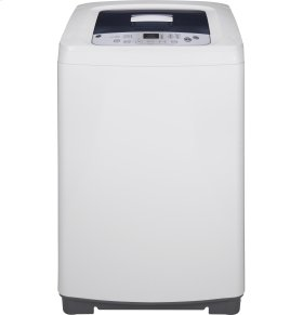 GE Space-Saving 2.6 DOE Cu. Ft. Capacity Stationary Washer with Stainless Steel Basket