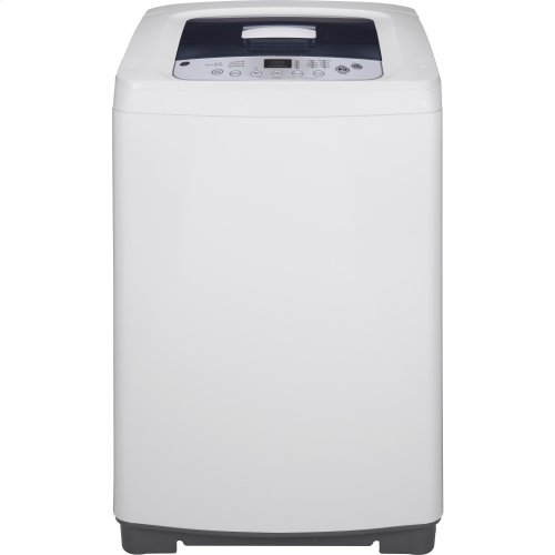 GE® Space-Saving 2.6 DOE cu. ft. Capacity Stationary Washer with Stainless Steel Basket