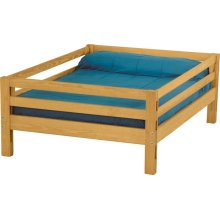 Double upper bed