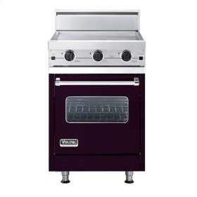 "Plum 24"" Griddle Companion Range - VGIC (24"" wide range with griddle/simmer plate, single oven)"