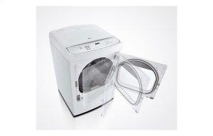 7.3 cu. ft. Ultra Large Capacity High Efficiency Front Control SteamDryer w/ EasyLoad Door