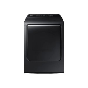 Samsung 7.4 Cu. Ft. Electric Dryer With Integrated Controls In Black Stainless Steel