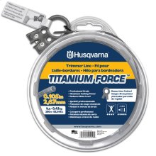 "Titanium Force Trimmer Line .105"" x 115'"