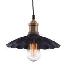 Hamilton Ceiling Lamp Anitque Blk/copper