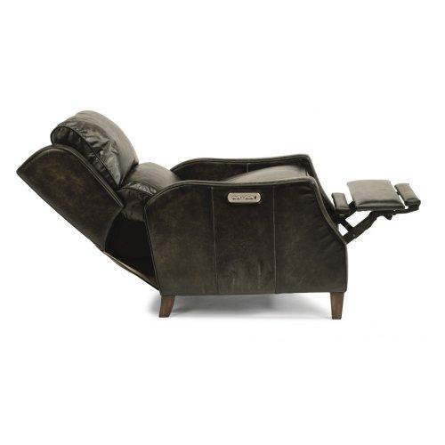 Ethan Leather Power High-Leg Recliner with Power Headrest