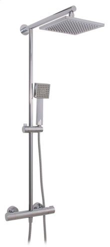"Ezee Kube 1/2"" thermostatic shower column"