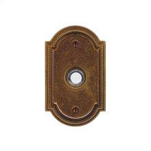 Ellis Doorbell Button Silicon Bronze Brushed