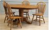 Solid Oak Side Chair