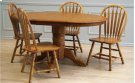 Solid Oak Side Chair Product Image