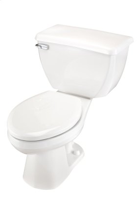 """White Ultra Flush® 1.6 Gpf 14"""" Rough-in Two-piece Elongated Toilet"""