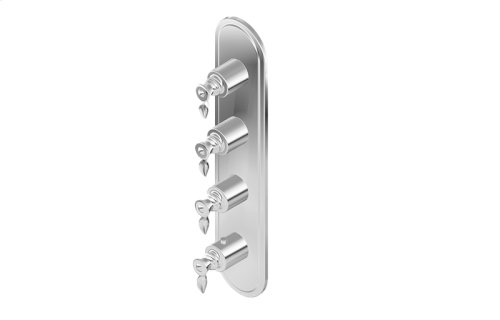 Topaz M-Series Valve Trim with Four Handles