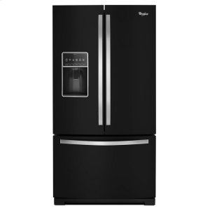 36-inch Wide French Door Bottom Freezer Refrigerator with StoreRight System - 27cu. ft. - BLACK ICE