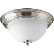 "One-Light 11-3/8"" LED Flush Mount"