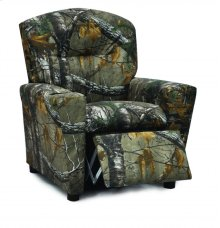 KIDZ WORLD 2300RTX Real Tree Youth Recliner