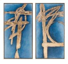 Prominence Framed Oil Paintings - Ast 2