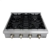 30 Inch Professional Gas Rangetop In Stainless Steel Product Image
