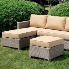 Sabina Patio Sectional W/ Ottoman