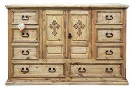 Mansion Dresser W/ Cross