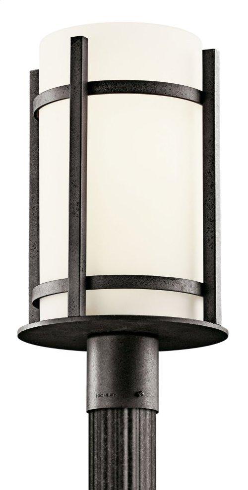 Camden 1 Light Post Light Anvil Iron