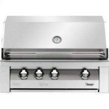36-In. Built-In Natural Gas Grill in Stainless