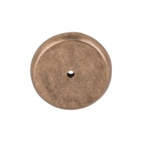 Aspen Round Backplate 1 3/4 Inch - Light Bronze