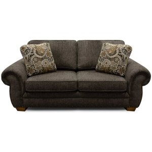 ENGLAND FURNITURE Walters Loveseat With Nails 6636n