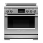 "Fisher & PaykelInduction Range, 36"", 5 Zones with SmartZone, Self-cleaning"
