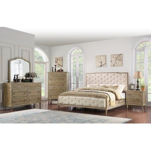 Emerald Home Interlude 6 Drawer Dresser Sandstone B560-01
