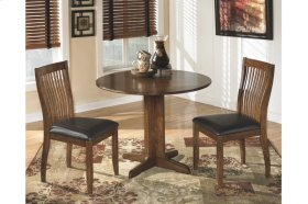 Round Drop Leaf Table with 4 Chairs