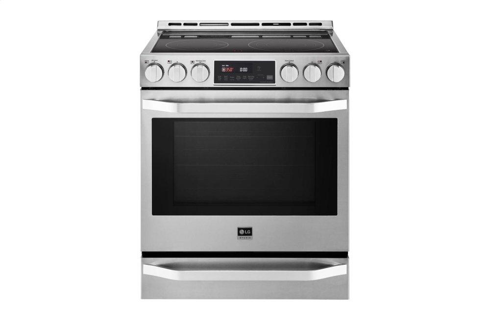LG STUDIO 6.3 cu. ft. Electric Single Oven Slide-In-range with ProBake Convection(R)