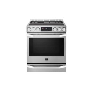LG AppliancesLG STUDIO 6.3 cu. ft. Electric Single Oven Slide-In-range with ProBake Convection®