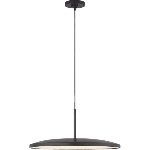 Visual Comfort PB5000MBK Peter Bristol Dot LED 14 inch Matte Black Pendant Ceiling Light